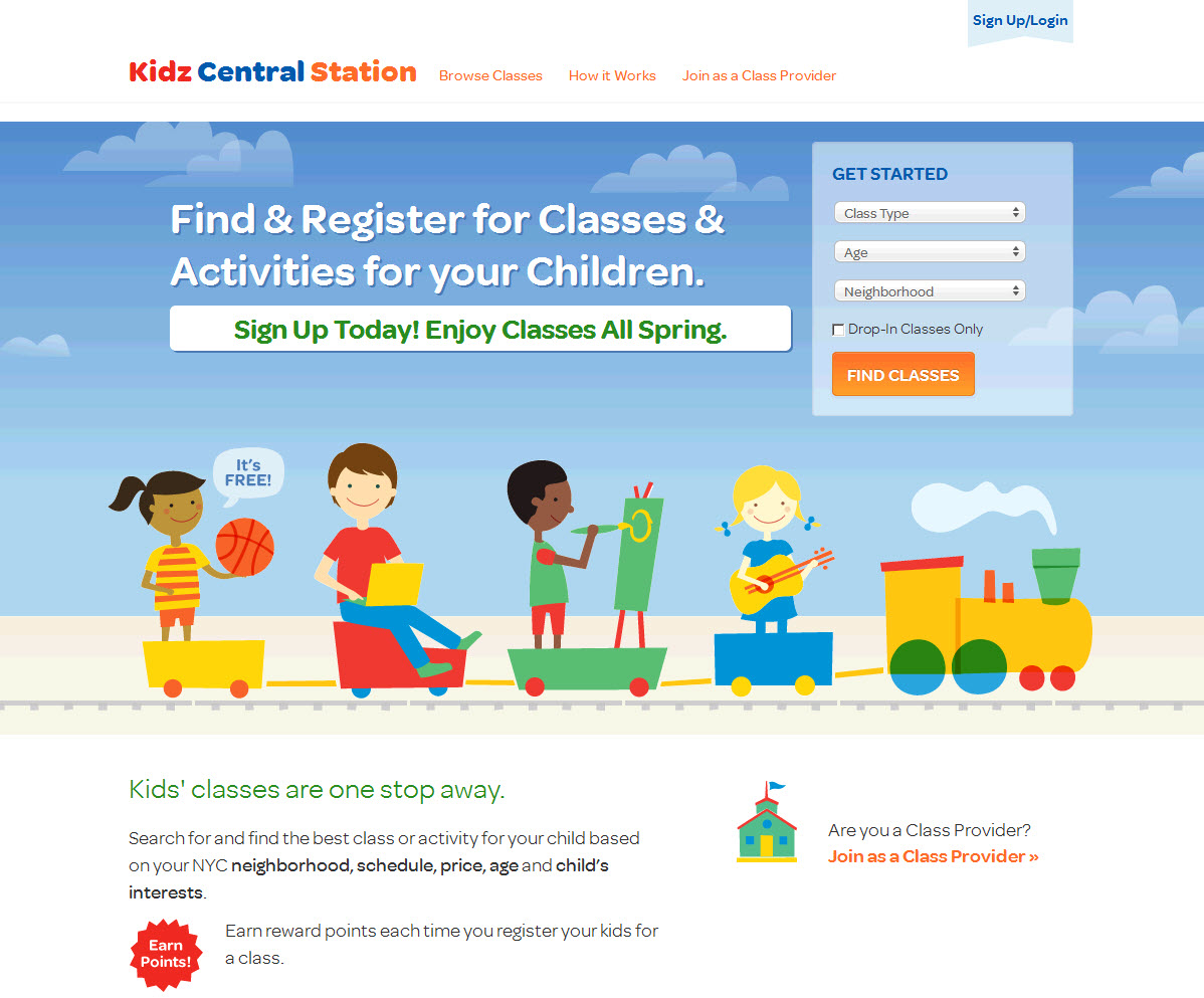 Kidz central station a godsend for new york parents for Nyc kids activities today