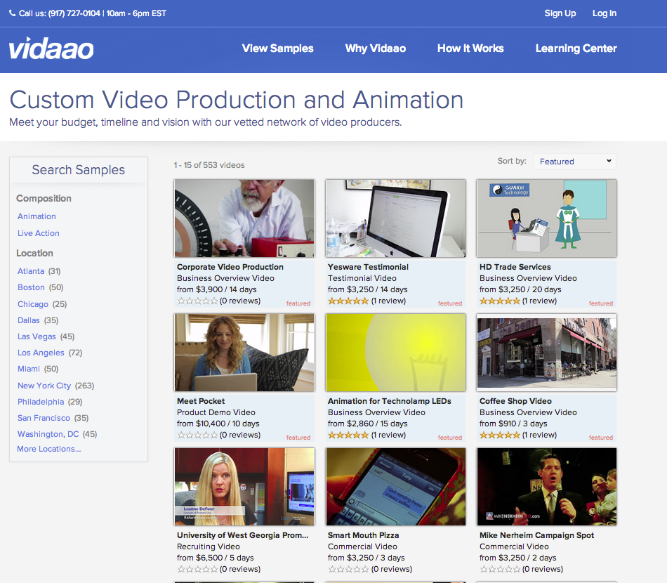 Vidaao_Video for Business_Shop-by-sample