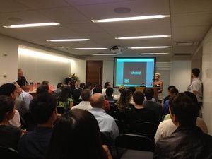 Newbies Share Space with Older Entrepreneurs at NYC Startup Demo Night