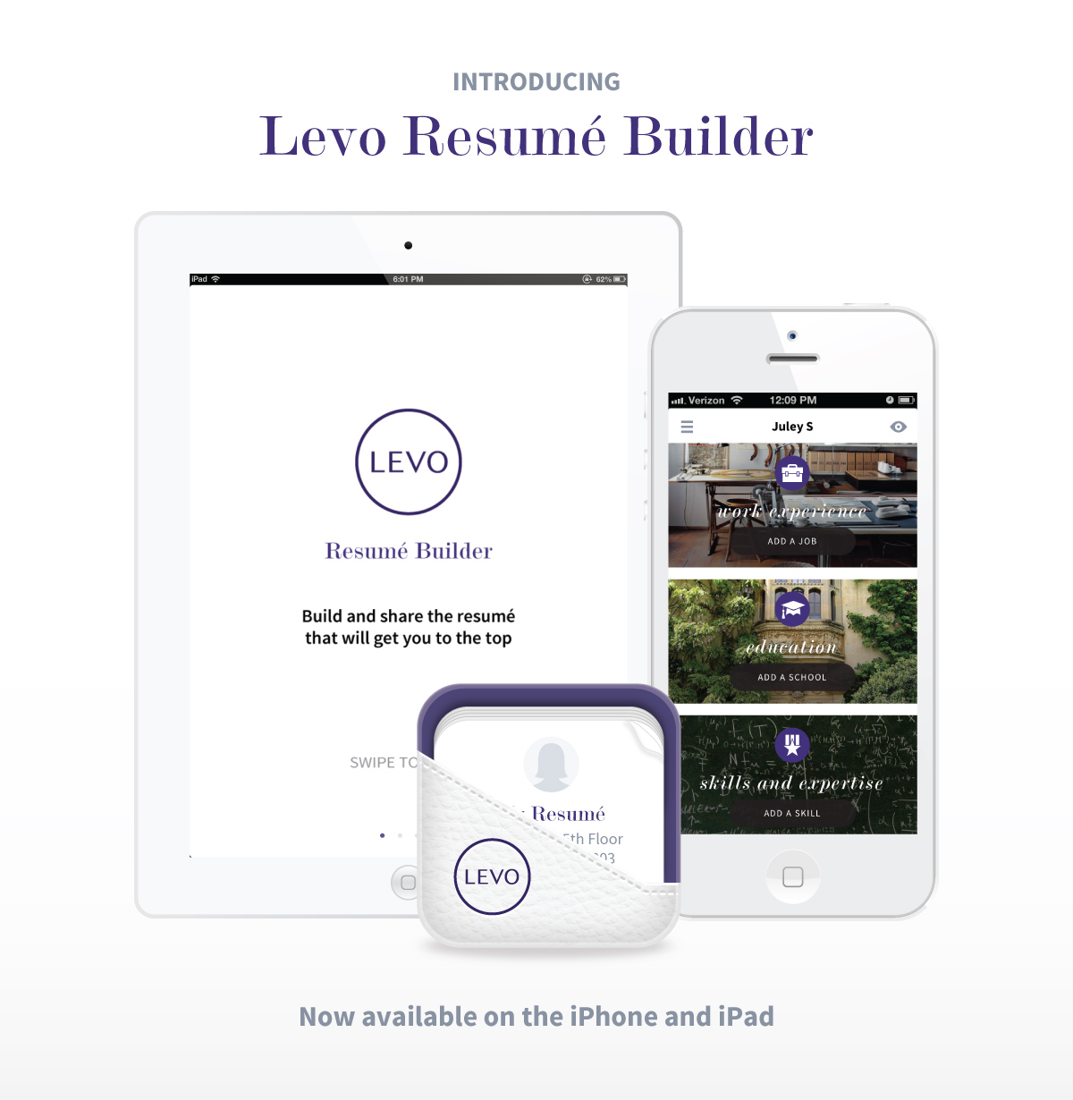 Superb And To Always Have A Resume On You, Too, Of Course. Levo League, The Social  Startup Designed To Elevate Young Women In ...  App For Resume