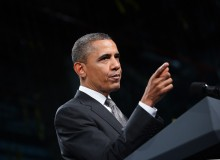 US President Barack Obama speaks on the