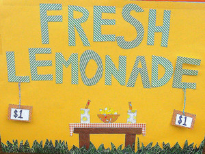 Start With A Lemonade Stand