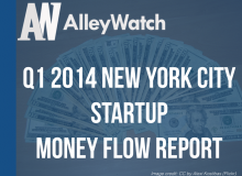 Q1 2014 Startup Money Flow Report NYC.001