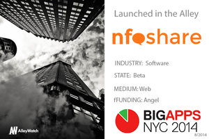 "NYC BigApps Finalist Nfoshare: The Platform that Answers the Question, ""How'm I Doing?"""