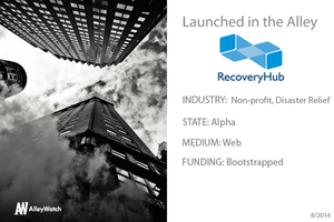 NYC Startup RecoveryHub: In Case of Emergency, Click Here