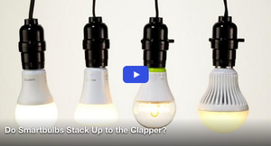 Do Smartbulbs Stack Up to the Clapper?