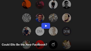Could Ello Be the New Facebook?