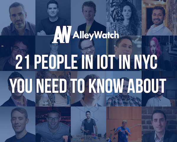 20 People in IoT in NYC You Need To Know About