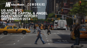 The September 2014 NYC Venture Capital and Angel Funding Report