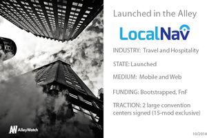 NYC is a Tourist Town, LocalNav Is The Tourist Software