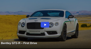 Bentley GT3-R: First Drive