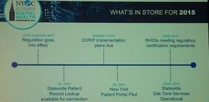 The 2014 NYeC DHC: A Road Map for Digital Health in 2015