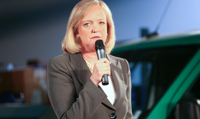 Meg Whitman and Hendricks Hallett Whitman, Jr.