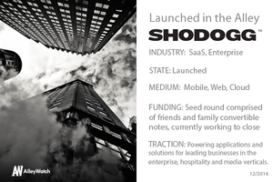 Meet Shodogg Who Won this Year's Techweek NYC Launch Competition