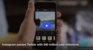 Instagram Passes Twitter with 300M Users
