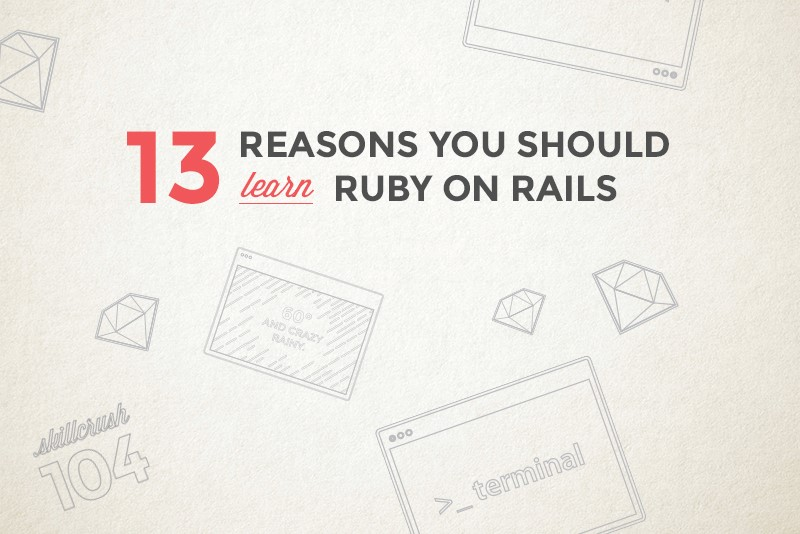 Ruby on the Rails Dev! - Magazine cover