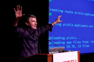 Nate Steps Down and the Startups Step Up at the April NYTM