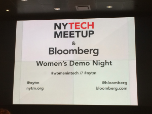 6 Women in Tech You Need to Know From NYTM Women's Demo Night