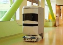 Hospitals cut costs with 'creepy' robots