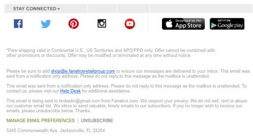 Unconversion Optimizing Email Unsubscribe 4