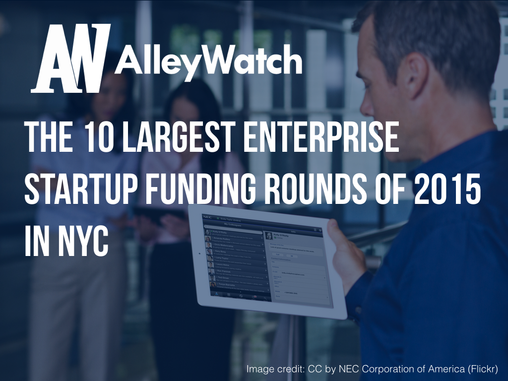 NYC Enteprise Startups Most Capital 2015.001