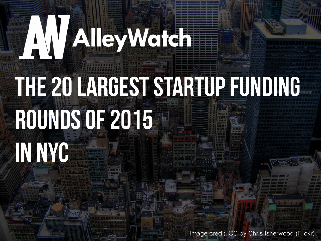 NYC Startups Most Capital 2015.001