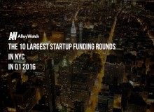 most heavily funded startups IN NYC q1 2016.002