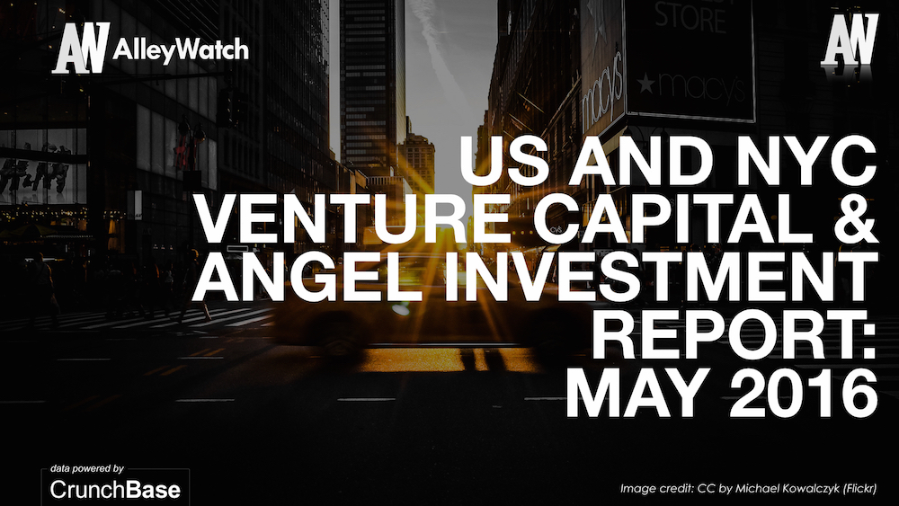 AlleyWatch May 2016 and US Venture Capital & Angel Investment Report.002