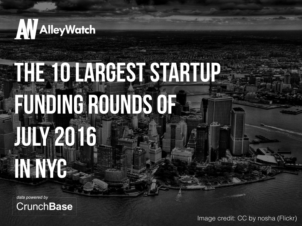 10 nyc startups raised amount capital july.001