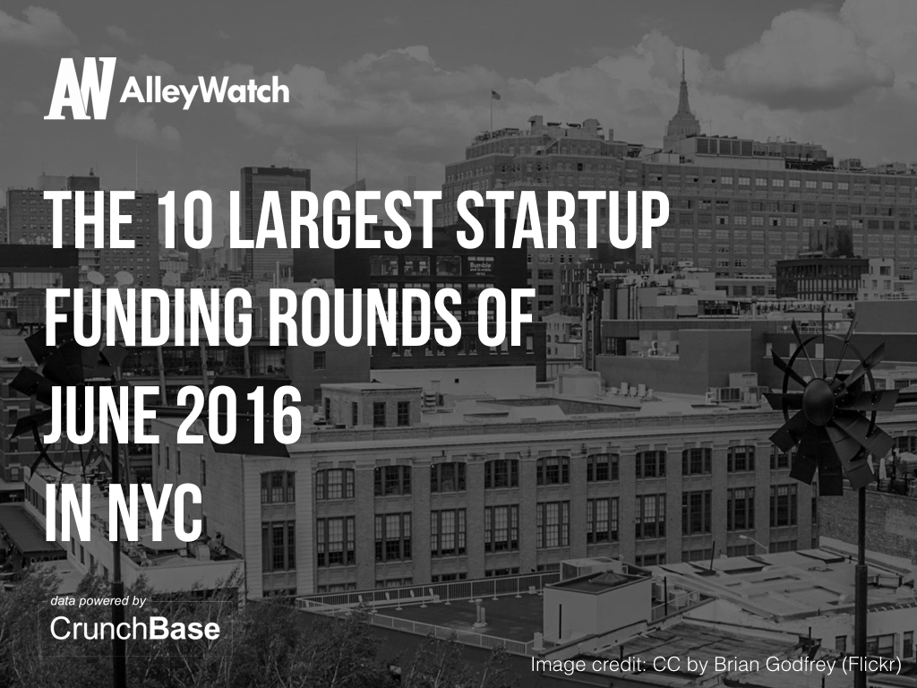 10 nyc startups raised amount capital june.001
