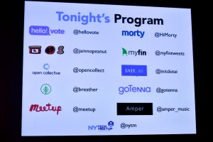 Engagement Was The Name of the Game at The October New York Tech Meetup