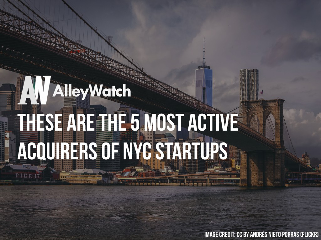 Acquirers of NYC Startups