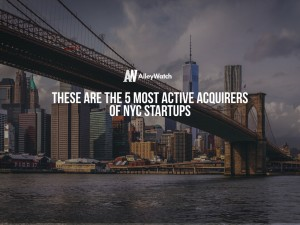 These are the 5 Most Active Acquirers of NYC Startups