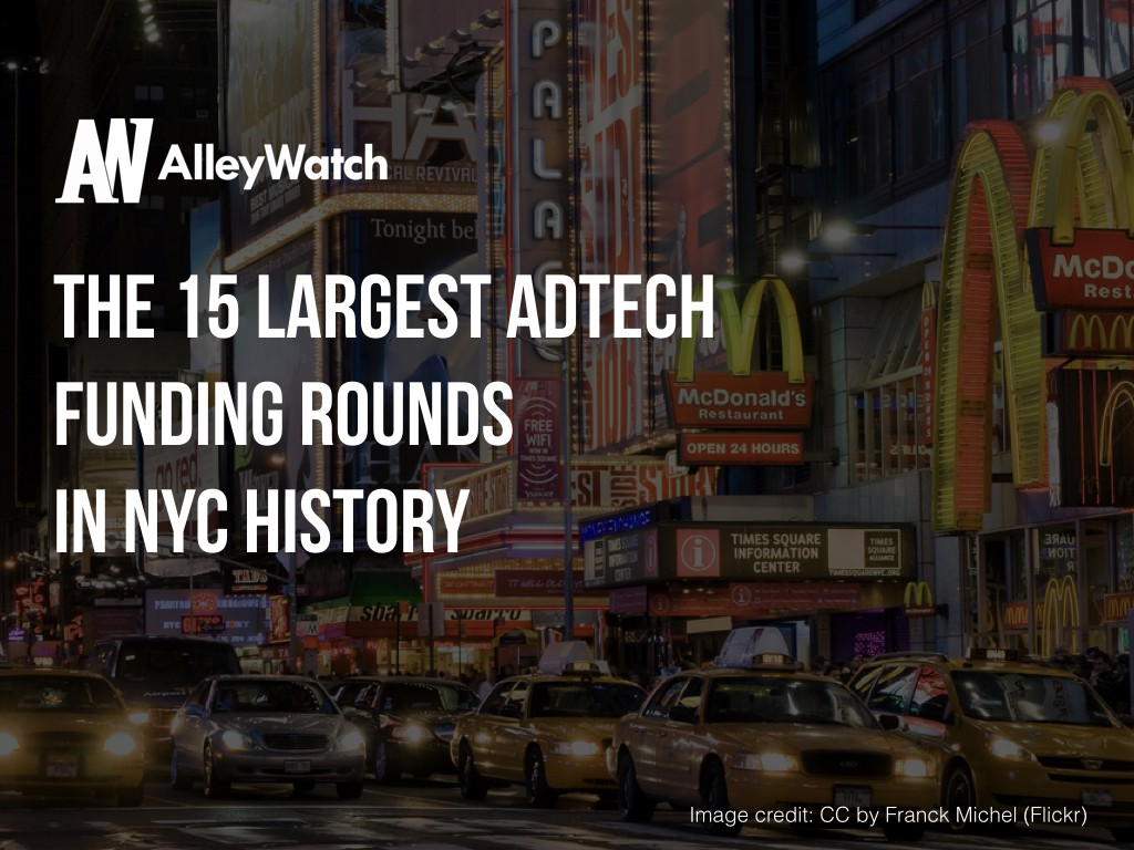 15 largest adtech startup nyc rounds history.001