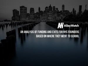 An Analysis of Funding and Exits for NYC Founders Based on Where They Went to School