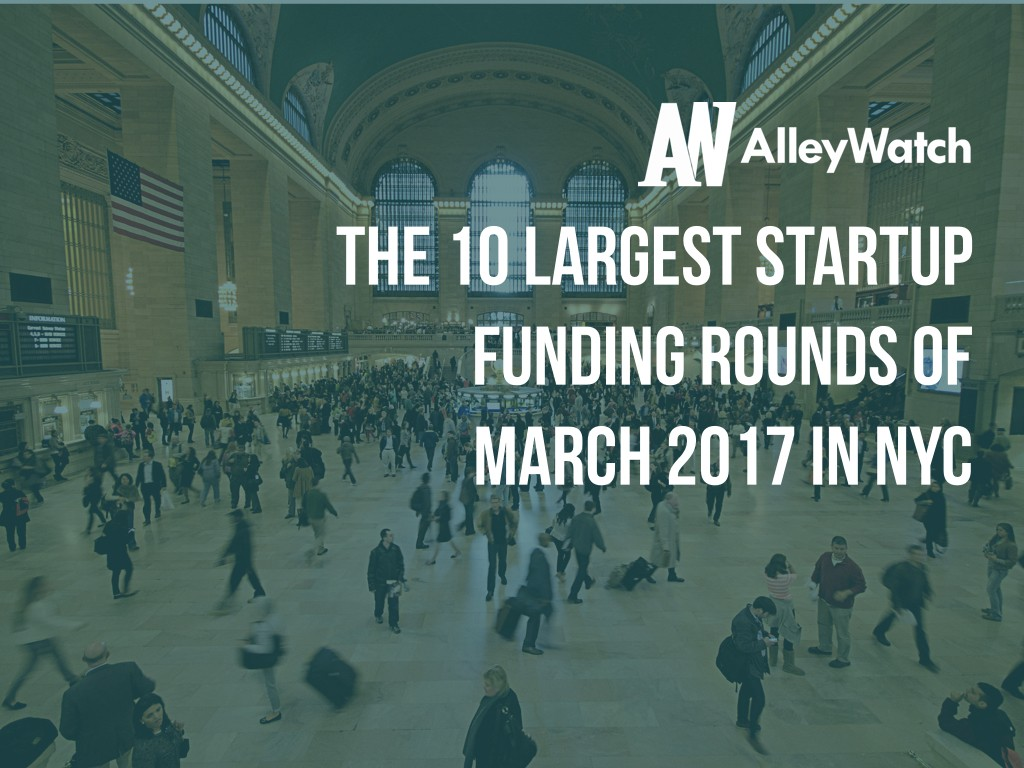 10 nyc startups raised amount capital march 2017.001