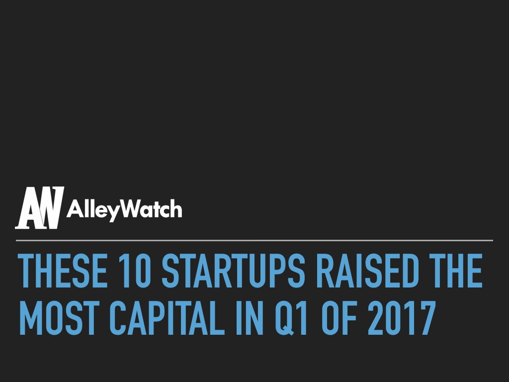 These 10 Startups Raised the Most Capital in Q1 of 2017.001
