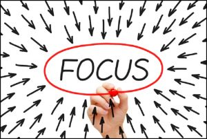 Having Laser-Focus Increases Odds of Success