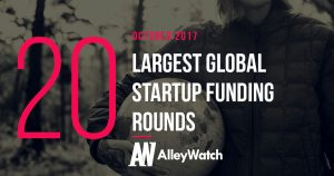 The 20 Largest Global Startup Funding Rounds of October 2017