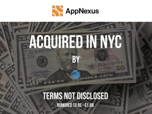 AppNexus Acquired by AT&T for a Rumored $1.6B