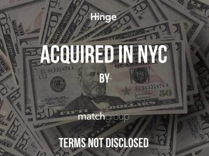 Match Acquires Dating App Hinge