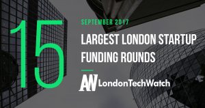 These are the 15 London Startups That Raised the Most Capital in September 2017