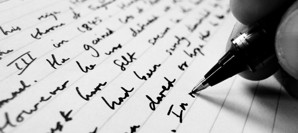 The Culture of Writing Things Down Photo