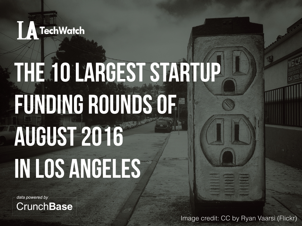 10 la startups raised amount capital august.001