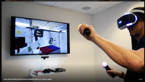 Is Robot Virtual Reality Just Hype?