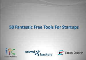 50 Fantastic Free Tools For Startups