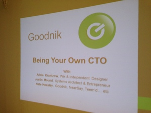 Being Your Own CTO