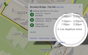Google Maps Now Offers Up-to-Date Subway Information