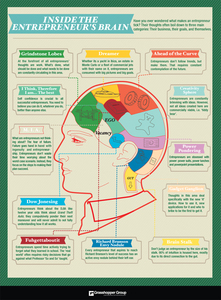 Dissecting the Entrepreneur's Brain [Infographic]