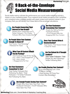 The 9 Social Media Metrics You Need to Know Today [Infographic]